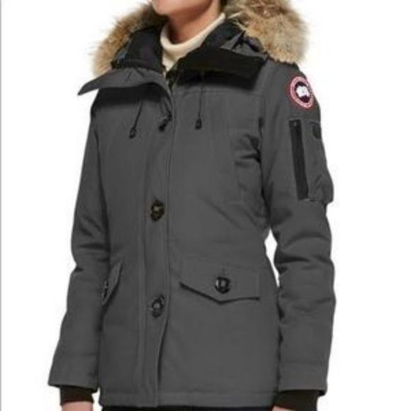 f375d50934d6 Canada Goose Jackets   Blazers - Canada Goose Montebello Parka - Grey
